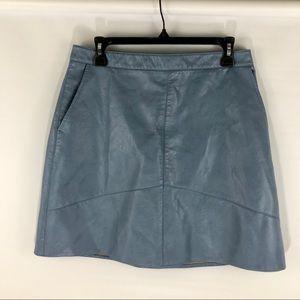 Zara Vegan Mini Skirt 🌺
